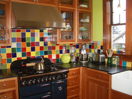 colorful kitchen backsplashes pascale s colorful farmhouse kitchen in portland future