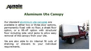Ute Canopies Victoria by Aussie Toolboxes Youtube