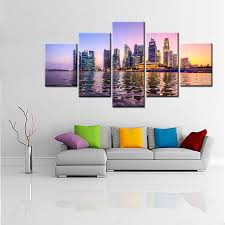 large hd picture beautiful a night view of singapore u0027s seaside