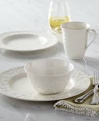 lenox dinnerware opal innocence carved collection dinnerware