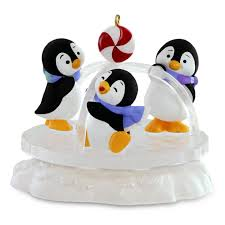 playground pals penguins ornament keepsake ornaments hallmark