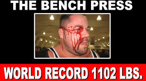 Olympic Record Bench Press The Biggest Bench Press World Record 1102 Lbs Youtube