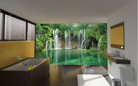 mural 14 beautiful wall murals design for your dream bathroom
