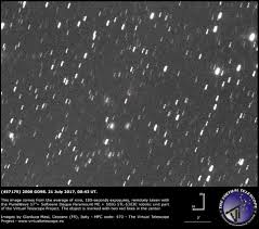 Comet 41p by Cometary Activity In 457175 2008 Go98 Follow Up Image 21 July