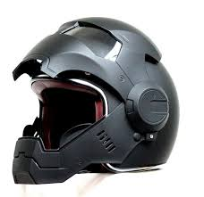 amazon com offroad helmet goggles amazon com motorcycle iron man helmet abs shell matt black cool