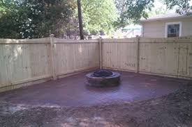 Brick Fire Pits by Brick Fire Pit And Surround Southern Heritage Landscaping Llc