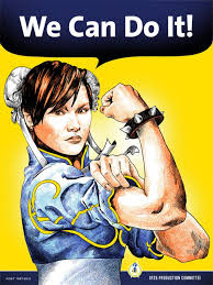 Rosie The Riveter Meme - the curious case of the 180 chinese aunties who bought 9 houses in