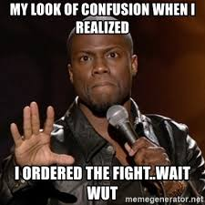 Wait Wut Meme - my look of confusion when i realized i ordered the fight wait wut