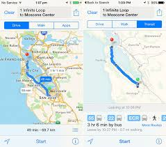 map search directions ios 9 feature preview transit directions and nearby
