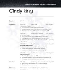 Completely Free Resume Template Free Resume Templates Open Office Resume Template And
