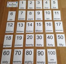 Flashcards Numbers 1 100 Non Braille Flash Cards Uk Only U2013 Lilya U0027s Low Vision Aids