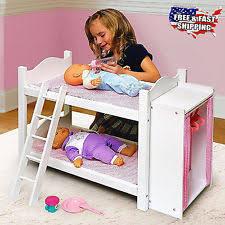 18 Inch Doll Bunk Bed American Bunk Bed Ebay