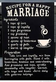 wedding quotes happily after recipe for a happy marriage marriage quotes happy