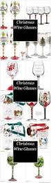 christmas wine glasses cheap christmas party fun pinterest