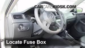 2012 Volkswagen Jetta Interior Interior Fuse Box Location 2011 2016 Volkswagen Jetta 2011
