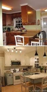 Kitchen Decor Ideas On A Budget Best 25 Budget Kitchen Makeovers Ideas On Pinterest Cheap