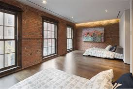 stone accent wall bedroom brown skin animal carpet rectangle brown