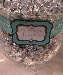 Tiffany Blue Candy Buffet by Tiffany Themed Wedding Candy And Dessert Buffet Party Ideas