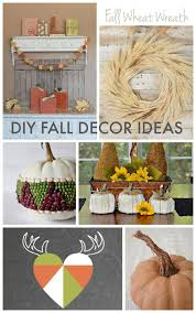 Homemade Fall Decor - diy fall decor ideas link party features the golden sycamore