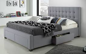 Grey King Size Bed Frame Beds Astonishing Cheap King Size Beds Cheap King Size Beds King