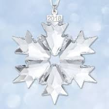 snowflake ornaments 2018 snowflake ornaments sterling collectables