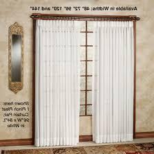 Privacy Sheer Curtains Door U0026 Chairs Splendor Semi Sheer Pinch Pleat Drapery Curtain