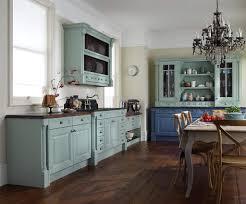 classic retro kitchen with checkerboard floor tiles retro style