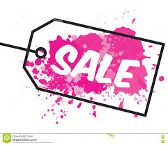 black friday pink sale black friday sale inscription design template stock vector image
