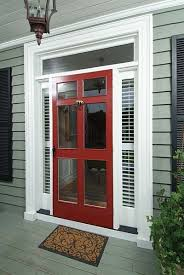 colonial style front doors a close second to screen doors for me is this style by far the