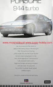 porsche 944 model kit porsche 944 turbo hasegawa 20260