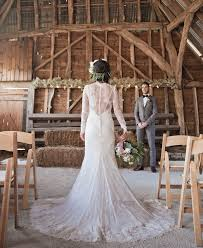 Outdoor Wedding Dresses 45 Chic Rustic Burlap U0026 Lace Wedding Ideas And Inspiration Tulle