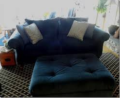 Cost To Reupholster A Sofa by New Navy Blue Sofa U2022 Kelly Bernier Designs