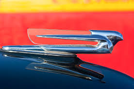 1940 cadillac ornament photograph by reger