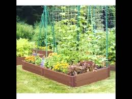 vegetable home garden landscaping design ideas youtube