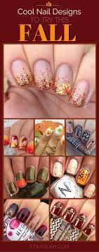 35 cool nail designs to try this fall stayglam
