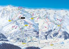 Big Sky Trail Map Ski Trail Map Ski Area Sölden Tirol Austria