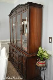 dining room china hutch china cabinet transformation and dining room update the latina