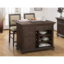 Drop Leaf Kitchen Island Table by Jofran 678 48 Geneva Hills Kitchen Island With Drop Leaf Wine