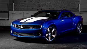 galaxy camaro chevrolet camaro blue car speed sunset wallpaper cars