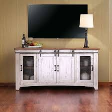 White Tv Cabinet With Doors Rustic White Tv Cabinet Living Stand White Distressed Antique
