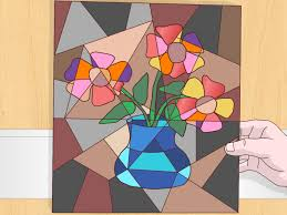 How To Paint A Flower Vase How To Do A Cubist Style Painting 14 Steps With Pictures