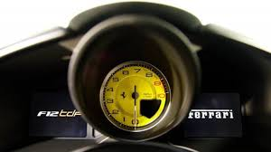 ferrari speedometer you can buy indycar driver graham rahal u0027s ferrari f12 tdf right