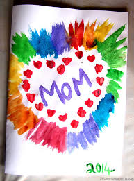 mothers day card simple s day card