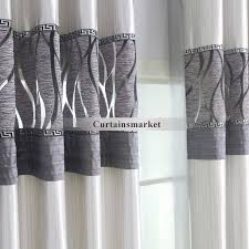 White Grey Curtains Grey And White Blackout Curtains Eulanguages Net