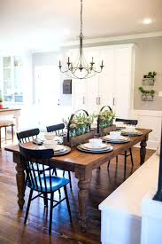 kitchen dining room light fixtures fixer upper the nut house table