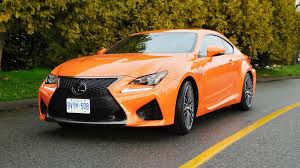 lexus rcf lowered 2016 lexus rc f test drive review