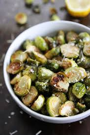 thanksgiving dinner lemon parmesan roasted brussels sprouts the