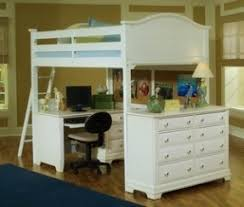 Double Loft Bed With Desk Foter - Full size bunk bed with desk