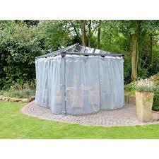 tonnelle de jardin avec moustiquaire moustiquaire pour tonnelle de jardin en alu et polycarbonate lot