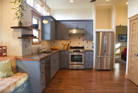 Painting Old Kitchen Cabinets Simple Grey Painted Kitchen Cabinets Ideas Paint Painters For Best